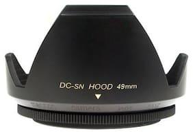 Mennon DC-sn 49 Improved Screw Mount 49mm Flower camera Lens Hood,Black plastic