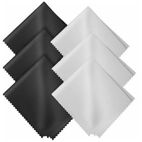 Microfiber Cleaning Cloths Safe for all Surfaces and Lenses(6 pack)