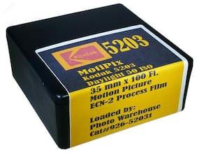 MotiPix Kodak 5203 35 mm x 100' Roll Motion Picture ECN-2 Process Film 50 D