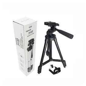 QUXXA COMPANY TF-3120  Extendable 3.5 Feet Tripod Stand for Mobile, GoPro & DSLR Camera