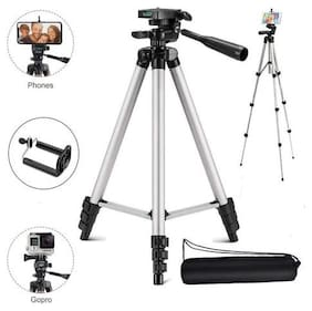 MS TRADING COMPANY TF-3110  Extentable 3.5 Feet Tripod Stand for Mobile, GoPro & DSLR Camera