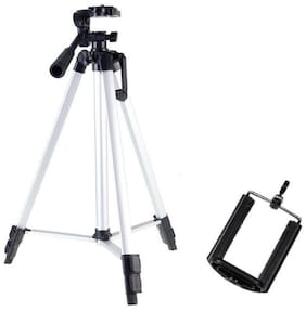 QUXXA MS-330A Extendable 5.0 Feet Tripod Stand for Mobile  GoPro & DSLR Camera