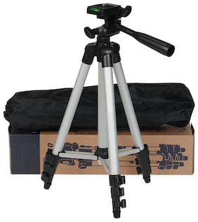 QUXXA BT-3110 Extendable 105cm Tripod Stand for Mobile  GoPro  & DSLR Camera