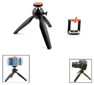 QUXXA 228A Non Extendable Tripod Stand for Mobile  GoPro (Usage for vlogging)
