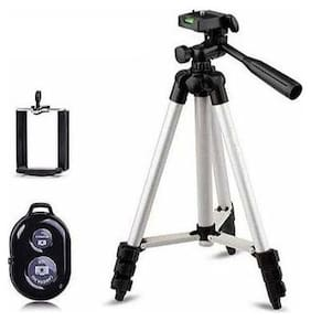 QUXXA DK-3888 Extendable 3.5F Tripod Stand for Mobile  GoPro & DSLR Camera