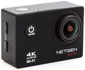 Netgen NG2100 Sports Action Camera 16 Mp 4K Wifi Ultra Hd Waterproof
