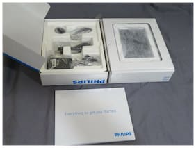 Philips 7 in Digital Photo Frame - Clear