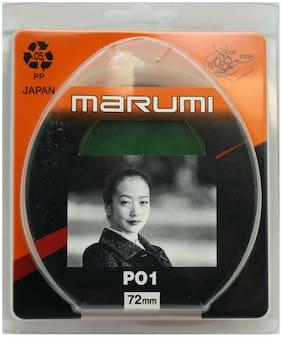 NEW Marumi 72mm PO1 Green Japan Camera Lens Filter