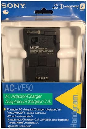 """NEW Sony AC-VF50 AC Adaptor & Quick Charger for """"F"""" Battery"""