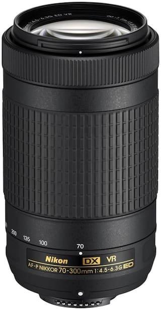 Nikon AF-P NIKKOR 70 - 300 mm f/4.5 - 6.3G ED VR Lens  (Black)