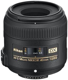 Nikon AF-S DX Micro NIKKOR 40mm f/2.8G Lens (Black)