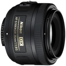 Nikon AF-S DX NIKKOR 35 mm f/1.8G Lens (Black)