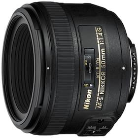Nikon AF-S NIKKOR 50 mm f/1.4G Lens (Black)