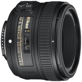 Nikon AF-S NIKKOR 50 mm f/1.8G Lens (Black)