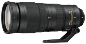 Nikon AF-S NIKKOR 200-500 mm f/5.6E ED VR Lens (Black) For DSLR Camera