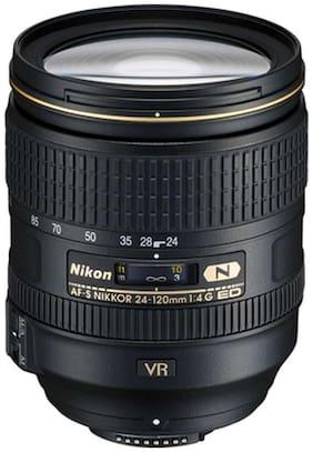 Nikon AF-S NIKKOR 24 - 120 mm f/4G ED VR Lens (Black)