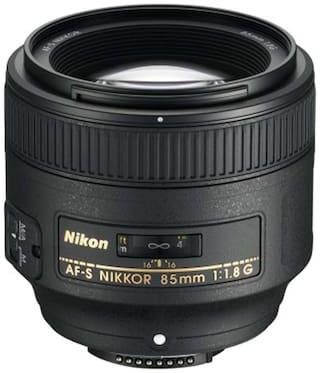 Nikon AF-S Nikkor 85 mm f/1.8G Lens (Black)