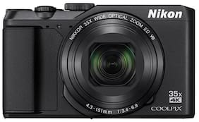 Nikon Coolpix A900 20.3 MP High Zoom Point & Shoot Camera (Black) + HDMI Cable + Carry Case + 16GB SD Card