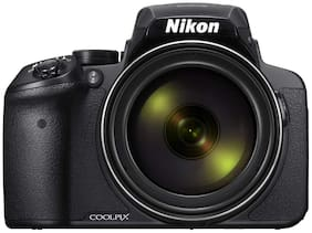 Nikon COOLPIX P900 16 MP High Zoom Point & Shoot Camera + HDMI Cable + Carry Case + 16GB SD Card