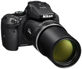 Nikon COOLPIX P900 16 MP High Zoom Point & Shoot Camera (Black) + HDMI Cable + Carry Case + 16GB SD Card
