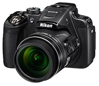 Nikon Coolpix P610 16 MP High Zoom Point & Shoot Camera (Black) + HDMI Cable + Carry Case + 8GB SD Card