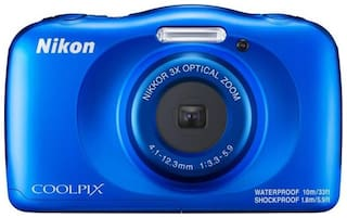 Nikon Coolpix W150  (13.2 MP, 3x Optical Zoom, Upto 4x Digital Zoom, Blue)