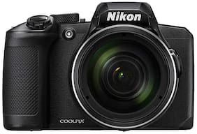 Nikon Coolpix B600 16 MP Digital Camera with Carry Case + HDMI Cable + 16 gb SD Card (Black)