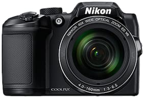 Nikon Coolpix B500 16 MP High Zoom Point & Shoot Camera (Black) + HDMI Cable + Carry Case + 16GB SD Card