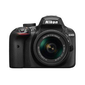 Nikon D3400 W/ AF-P DX NIKKOR 18-55mm F/3.5-5.6G VR (Black) + Bag + 16GB Memory Card