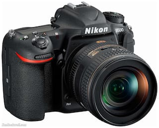 Nikon D500 20.9 MP DSLR Camera (Black)