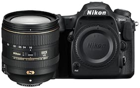 Nikon D500 Kit (AF-S DX 16-80 f/2.8-4E ED VR Lens) 20.9 MP Digital SLR Camera (Black) and 64 GB High Speed Sandisk Card