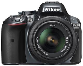 Nikon D5300 D-ZOOM KIT (AF-P DX NIKKOR 18-55mm f/3.5-5.6G VR + AF-P DX NIKKOR 70-300mm f/4.5-6.3G ED VR) + FREE Nikon DSLR Bag + 16GB Memory Card