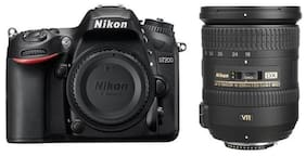 Nikon D7200 Kit (AF-S 18-200mm) DSLR Camera with 16GB Memory Card and Carry Case
