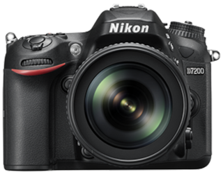 Nikon D7200 Kit (AF-S DX NIKKOR 18-105mm f/3.5-5.6G ED VR) 24.2 MP DSLR (Black) + FREE Nikon DSLR Bag + 16GB Memory Card