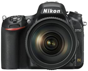Nikon D750 24.3 MP DSLR Camera  Black  Body Only