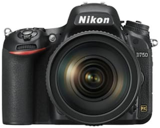 Nikon D750 24.3 MP DSLR Camera (Black) Body Only