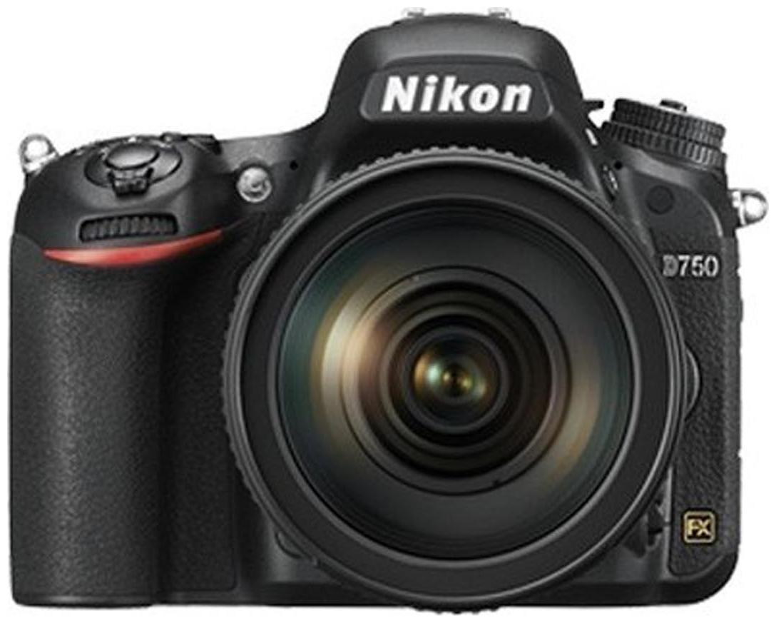 Nikon D750 (Black Body With 24-120mm VR Lens)