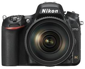Nikon D750 Kit (24-120mm VR Lens) 24.3 MP DSLR Camera (Black)