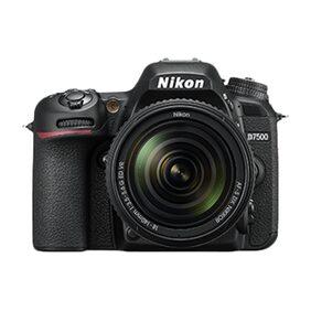 Nikon D7500 (with AF-S DX 18-105 mm F/3.5-5.6G ED VR Lens) 20.9 MP DSLR Camera (Black) + FREE Nikon DSLR Bag + 8GB Memory Card