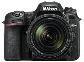 Nikon D7500 (Body Only) 20.9 MP DSLR Camera (Black)
