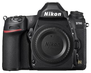 Nikon D780 (Body Only) 24.5 MP DSLR Camera (Black)