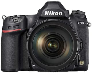 Nikon D780 Kit (24-120mm VR) 24.5 MP DSLR Camera (Black)