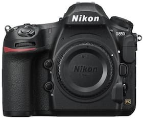 NIKON D850 45.7 MP DSLR Camera with 64 GB SD Card (Body Only) - Black