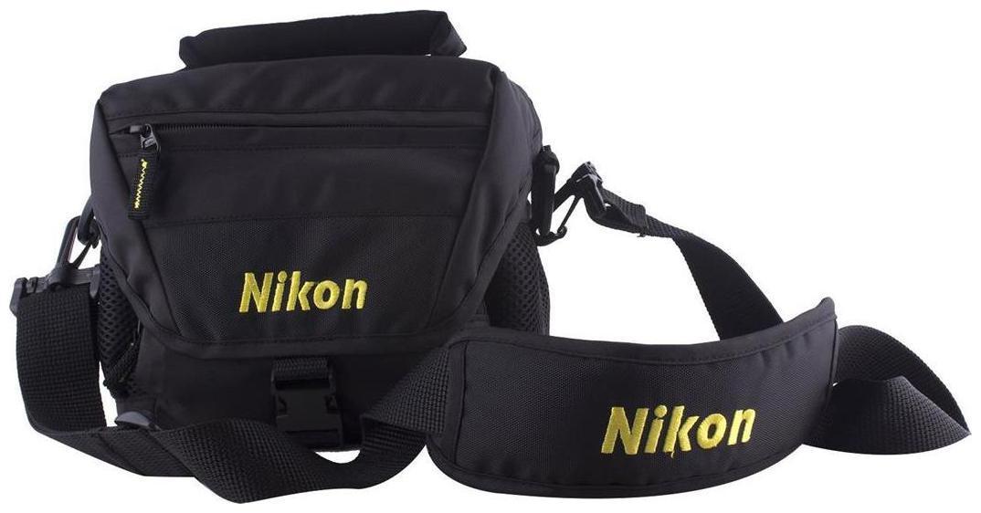 Nikon Dslr bag Shoulder bag   Black
