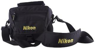 Nikon Dslr Bag Shoulder Bag ( Black )
