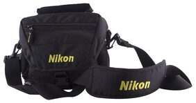 Nikon DSLR Shoulder Bag (Black)