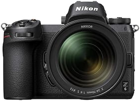 Nikon Z6 Kit (24 - 70 mm) 24.5 MP Mirrorless Camera + 32GB Card + Camera Bag (Black)