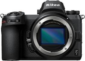 Nikon Z7 (Body Only) 45.7 MP Mirrorless Camera + 64 GB Card (Black)