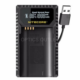Nitecore ULSL Digital USB Camera Battery Charger for Leica BP-SCL4 Batteries