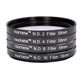 Numex-58MM ND2 ND4 ND8 ND16 ND FILTER KIT FOR CANON EOS 1000D 1100D 550D